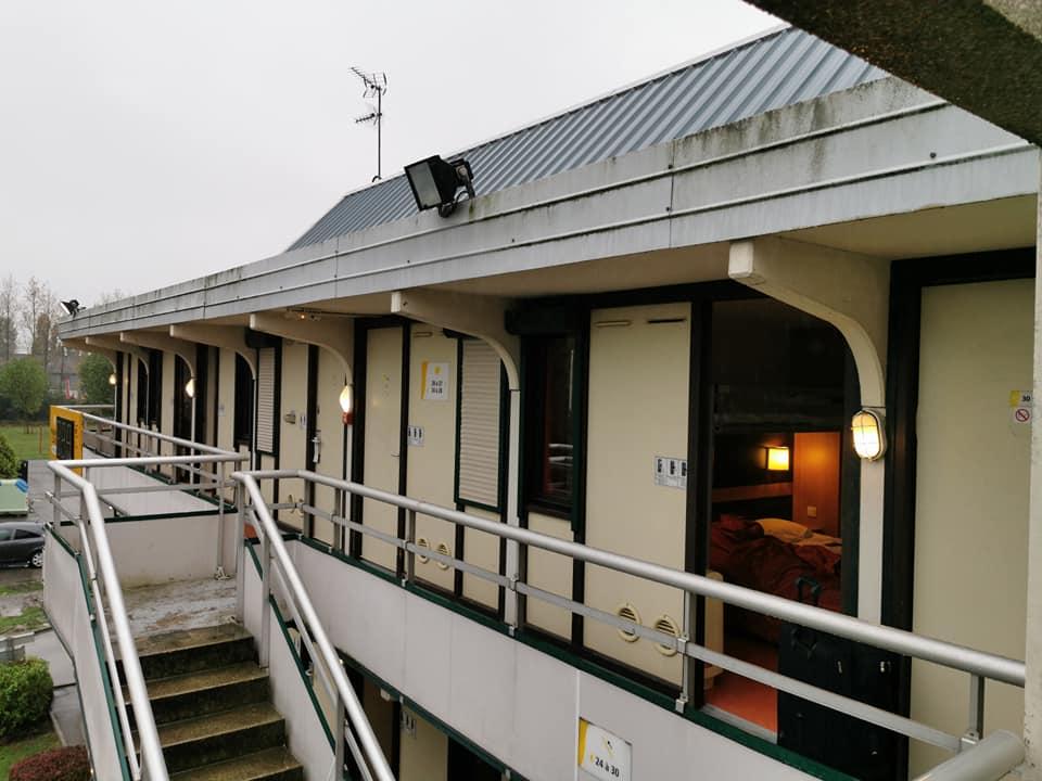 Hotellet i Dunkirk