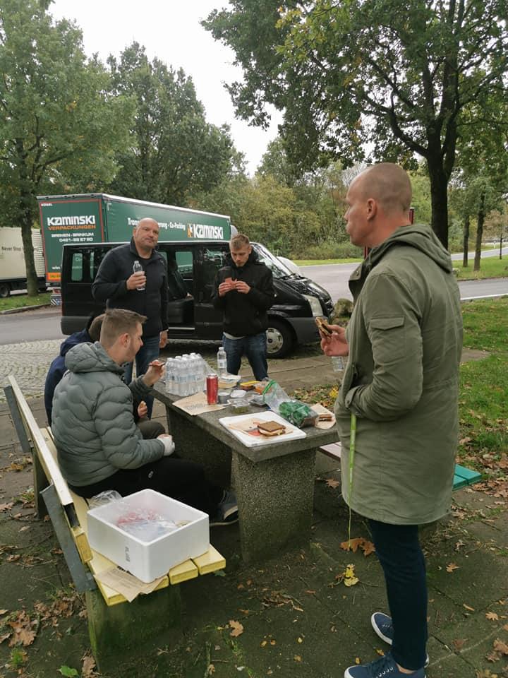 Frokost pause i Tyskland