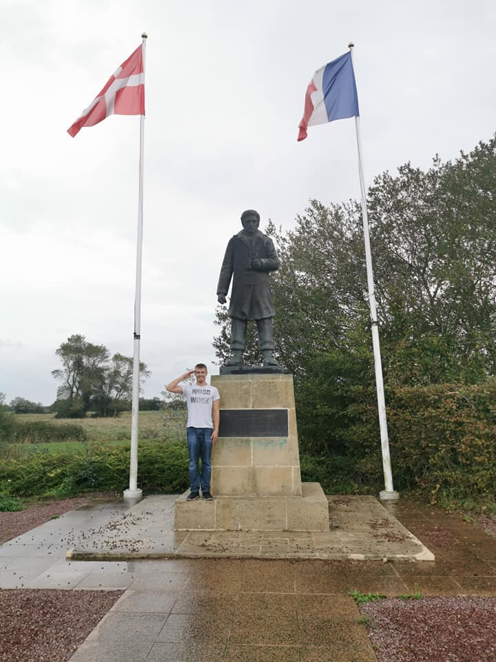 Dansk mindesmærke i Normandiet