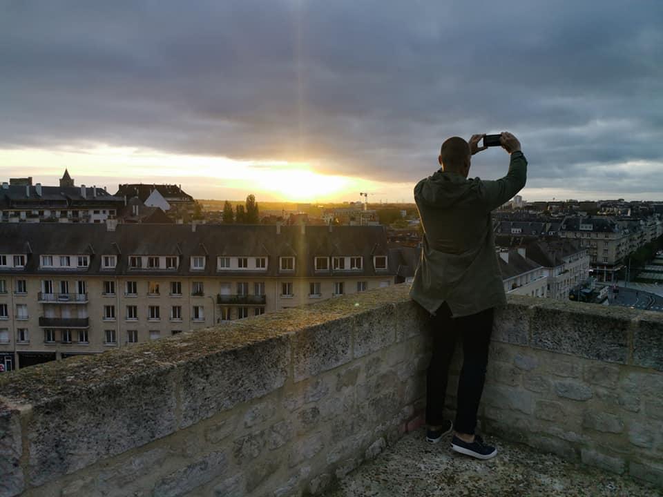 Foto fra fæstningen (Caen)