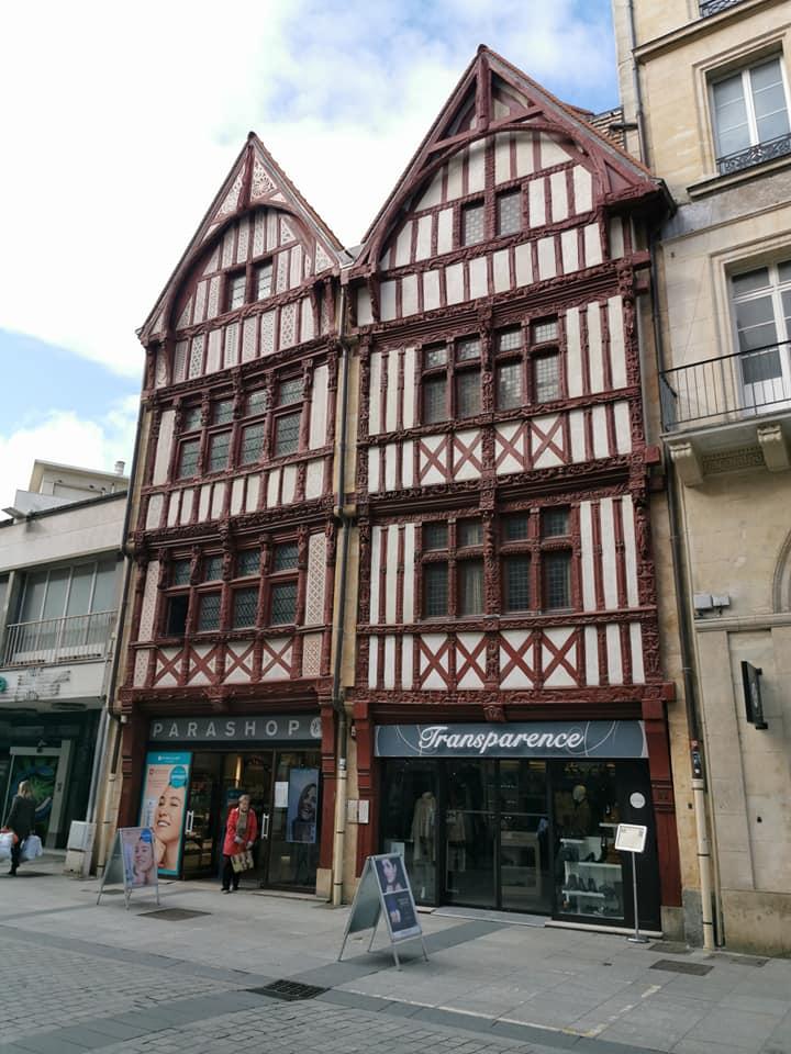 Maisons a Pans de Bois, Caen