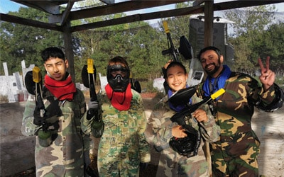 Paintball for fuld tryk