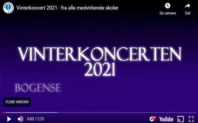 Vinterkoncert 2021 – fra alle medvirkende